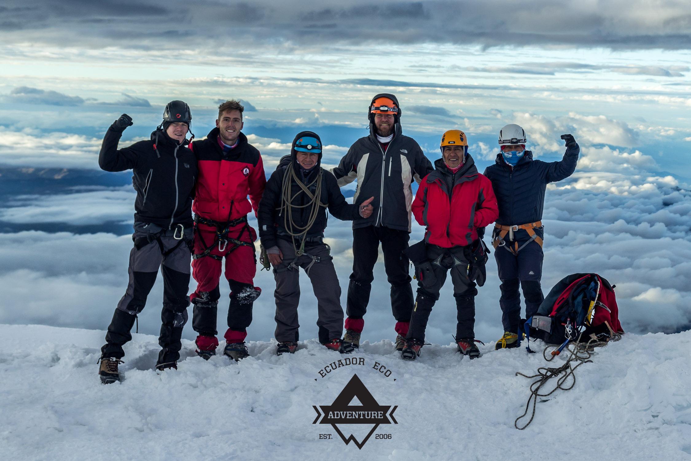 Mountain Climbing Ecuador